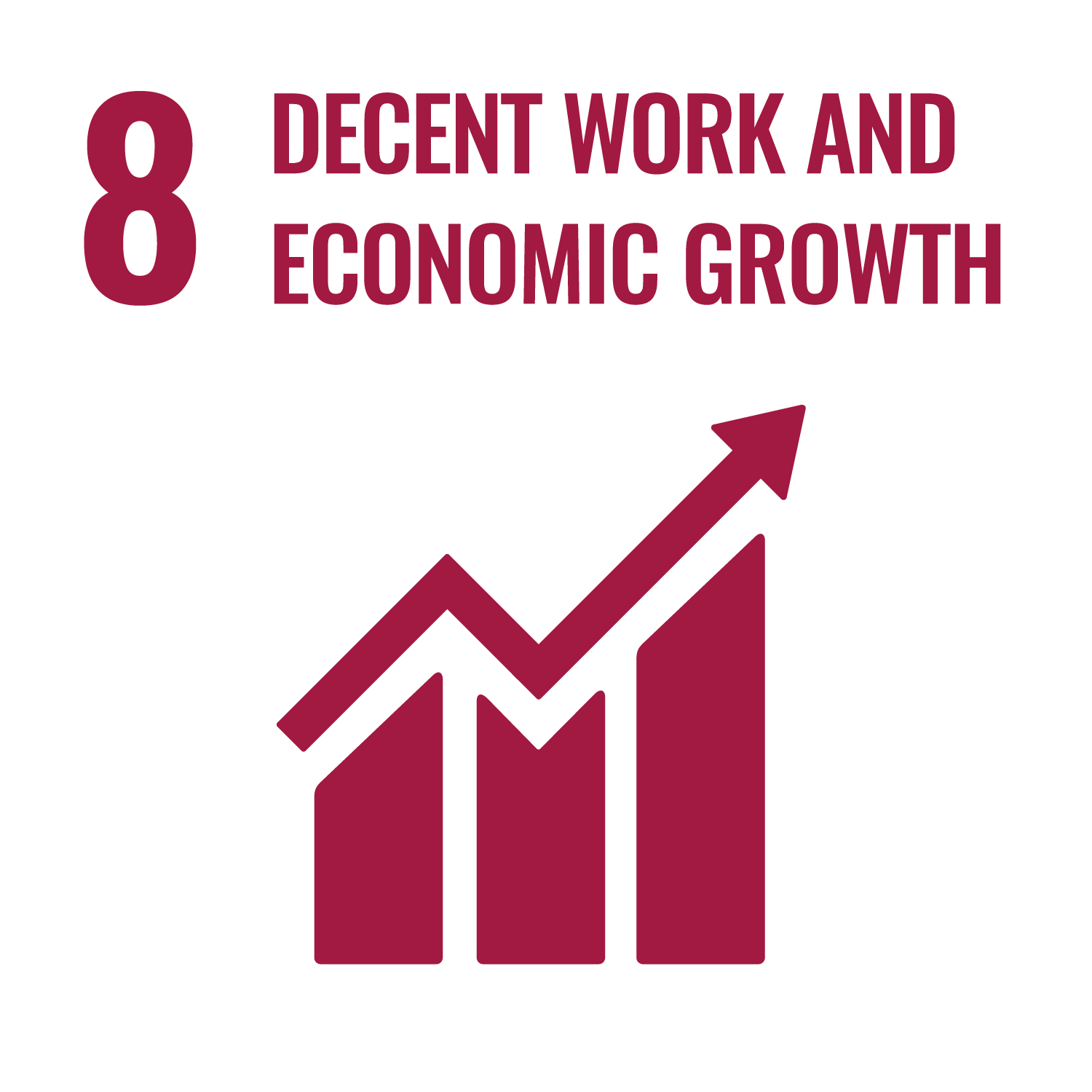 (8) Decent Work and Economic Growth