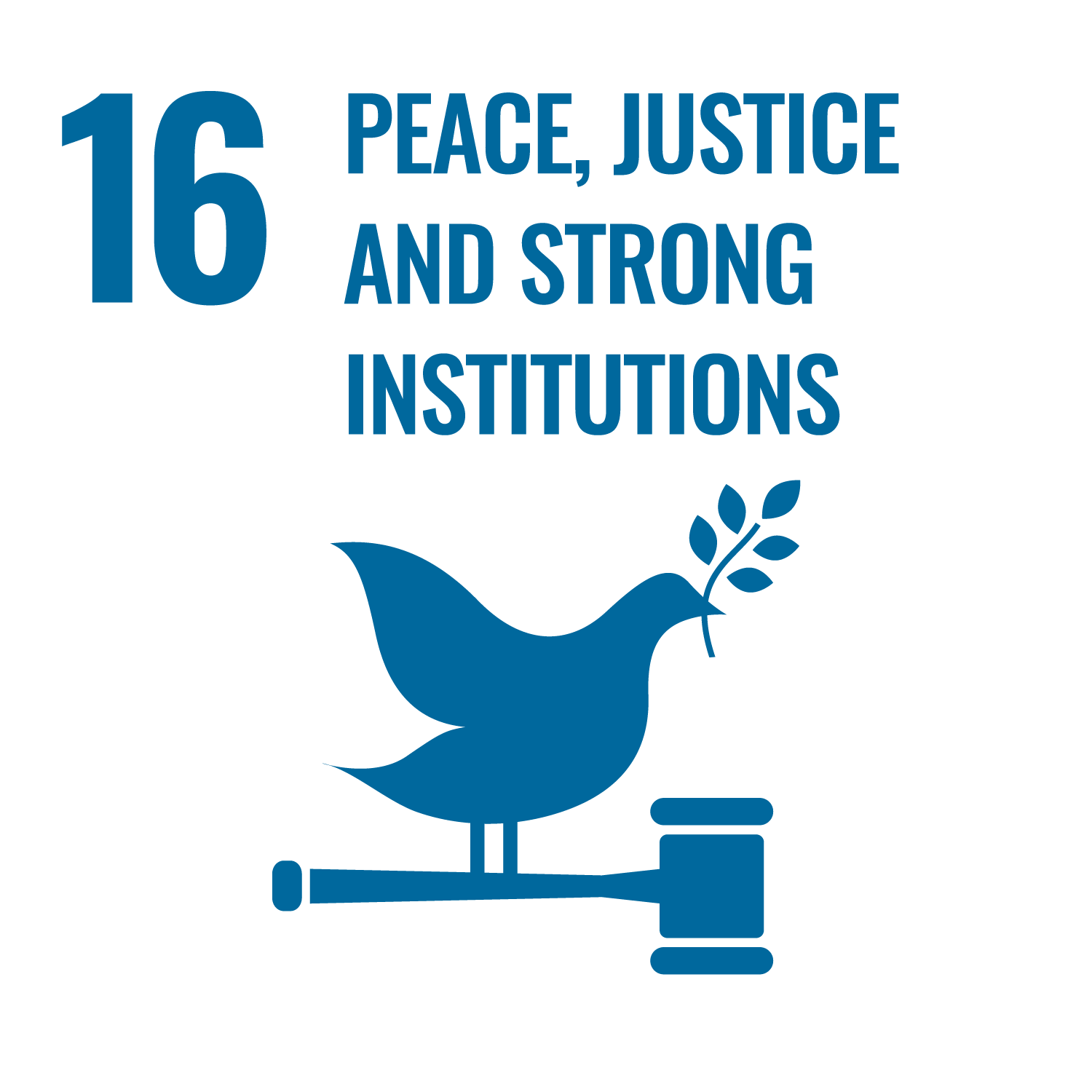 (16) Peace, Justice and Strong Institutions