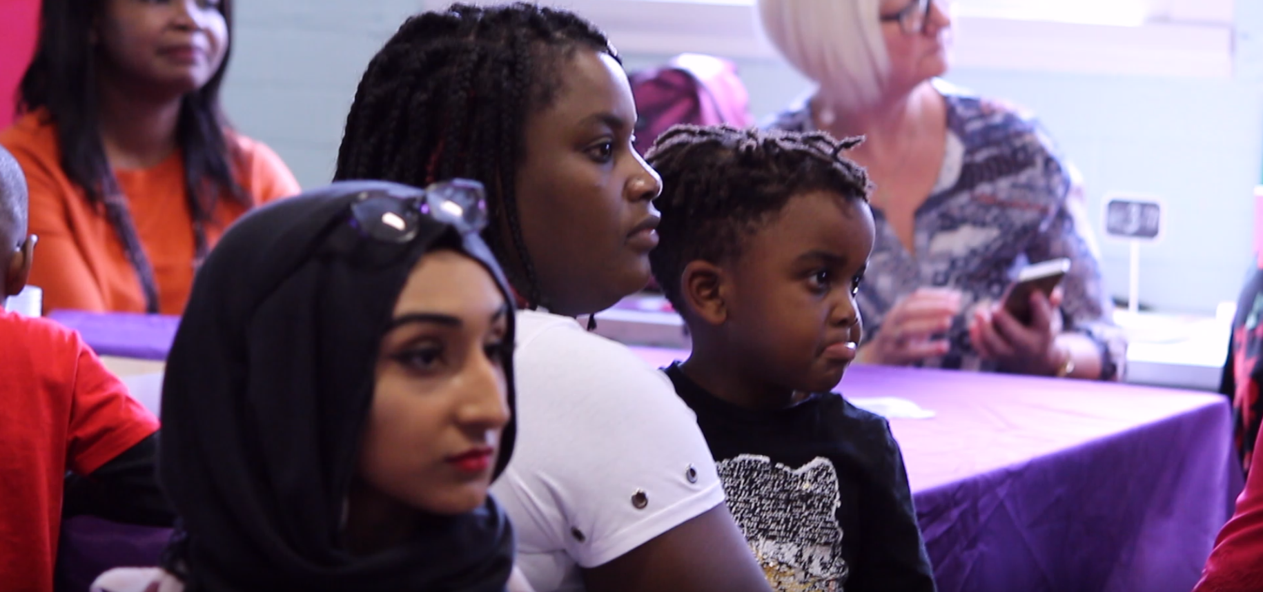 Women Today usually run workshops for BME women