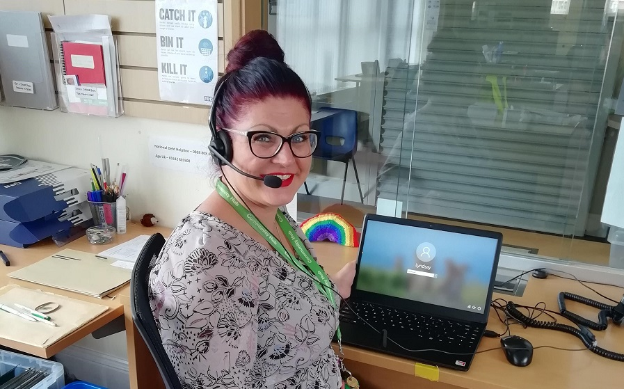 A Hartlepool charity is helping people stay safe while they seek advice.